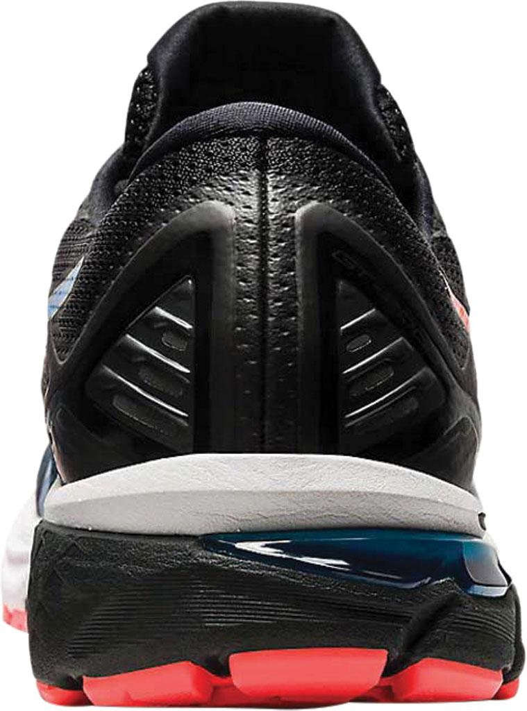 Men's ASICS GT-2000 9 Running Sneaker, Black/Directoire Blue, large, image 4
