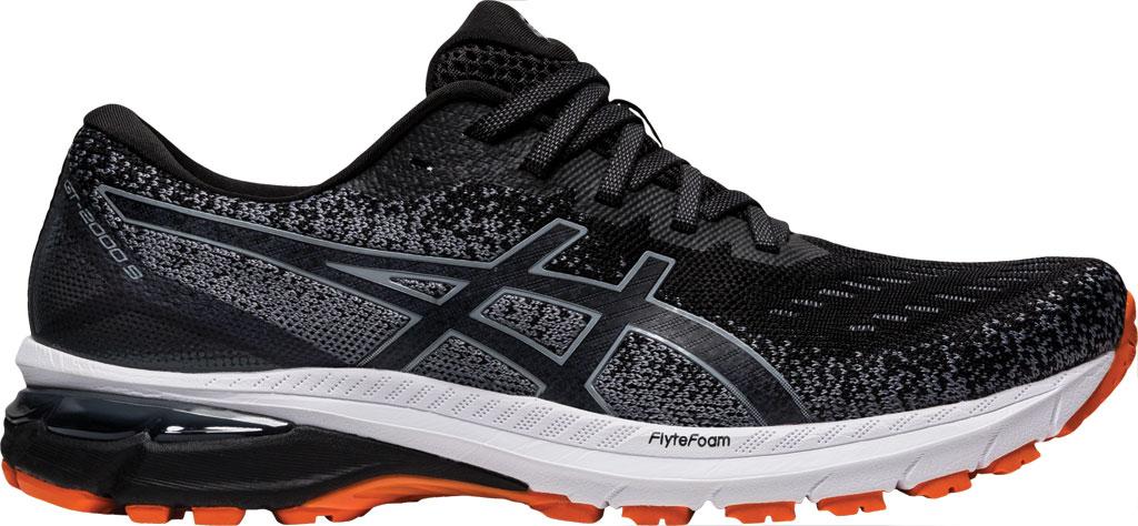 Men's ASICS GT-2000 9 Running Sneaker, Black/Metropolis, large, image 2