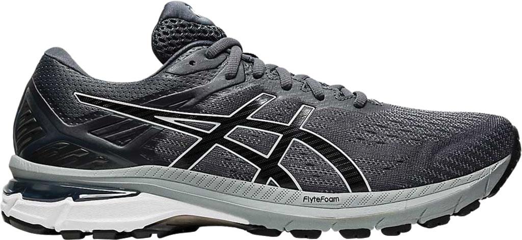 Men's ASICS GT-2000 9 Running Sneaker, Carrier Grey/Black, large, image 2