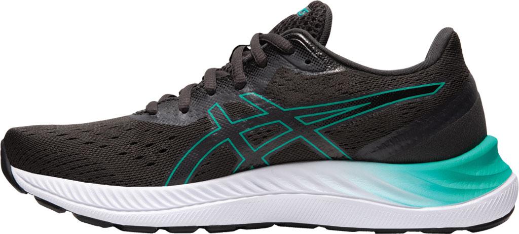 Women's ASICS GEL-Excite 8 Running Sneaker, Black/Baltic Jewel, large, image 3
