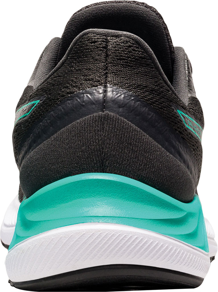 Women's ASICS GEL-Excite 8 Running Sneaker, Black/Baltic Jewel, large, image 4