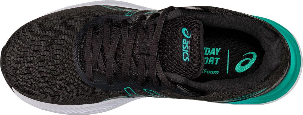 Women's ASICS GEL-Excite 8 Running Sneaker, Black/Baltic Jewel, large, image 5