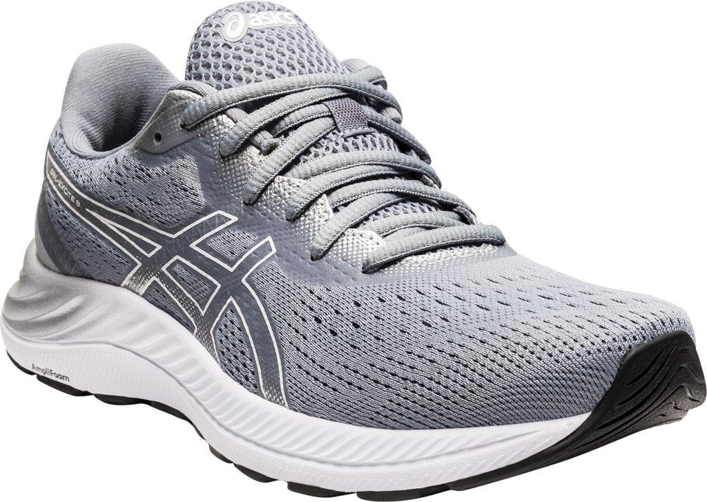 Women's ASICS GEL-Excite 8 Running Sneaker, Sheet Rock/White, large, image 1