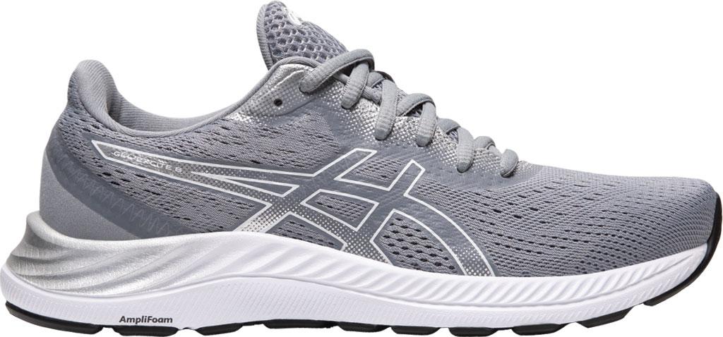 Women's ASICS GEL-Excite 8 Running Sneaker, Sheet Rock/White, large, image 2