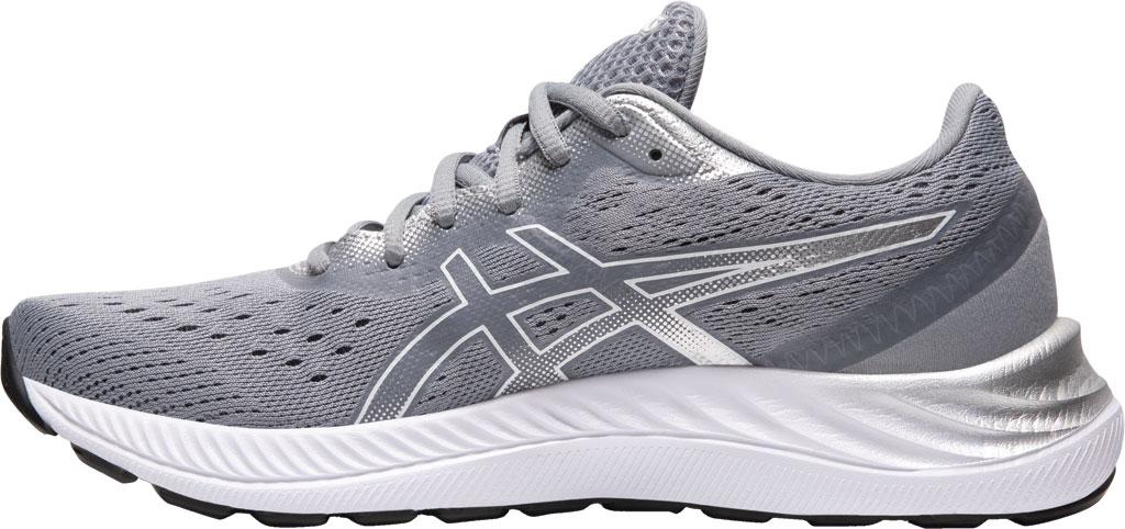 Women's ASICS GEL-Excite 8 Running Sneaker, Sheet Rock/White, large, image 3