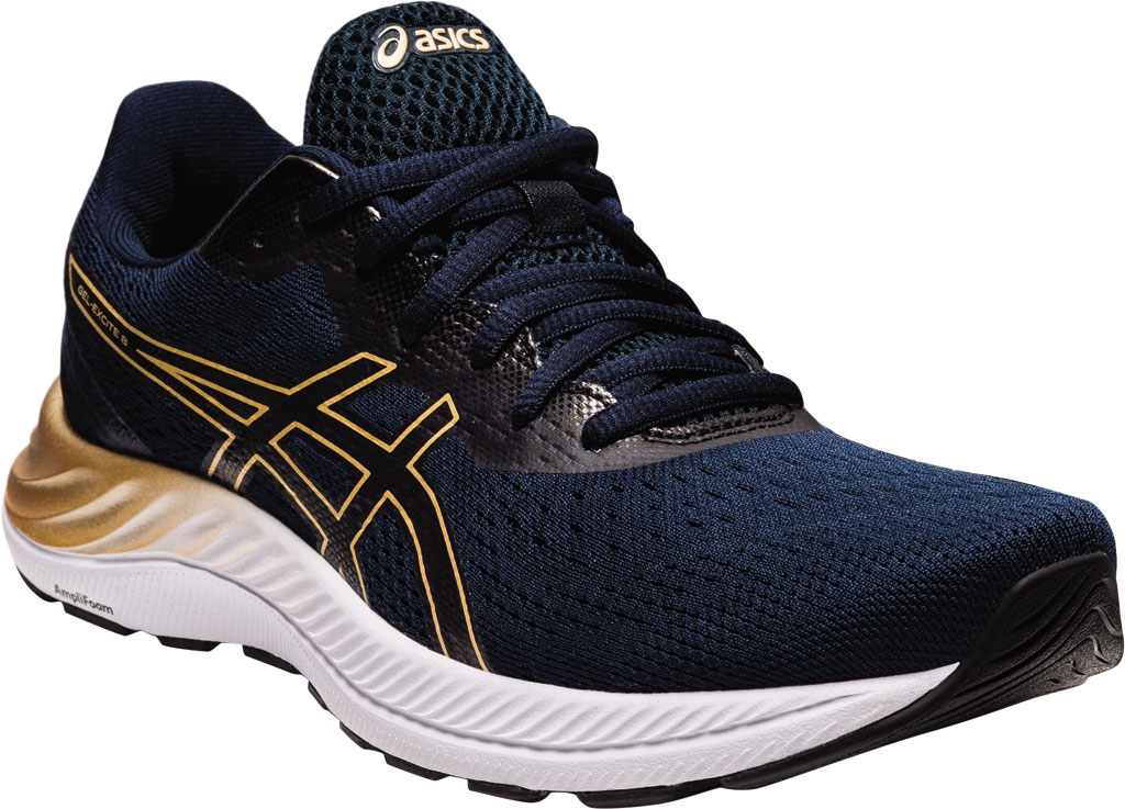 Women's ASICS GEL-Excite 8 Running Sneaker, French Blue/Champagne, large, image 1