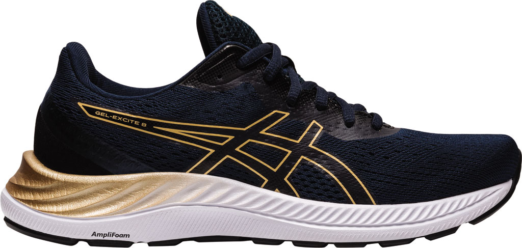 Women's ASICS GEL-Excite 8 Running Sneaker, French Blue/Champagne, large, image 2