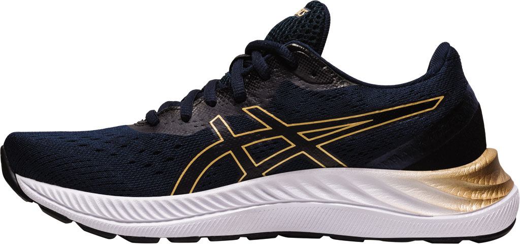 Women's ASICS GEL-Excite 8 Running Sneaker, French Blue/Champagne, large, image 3