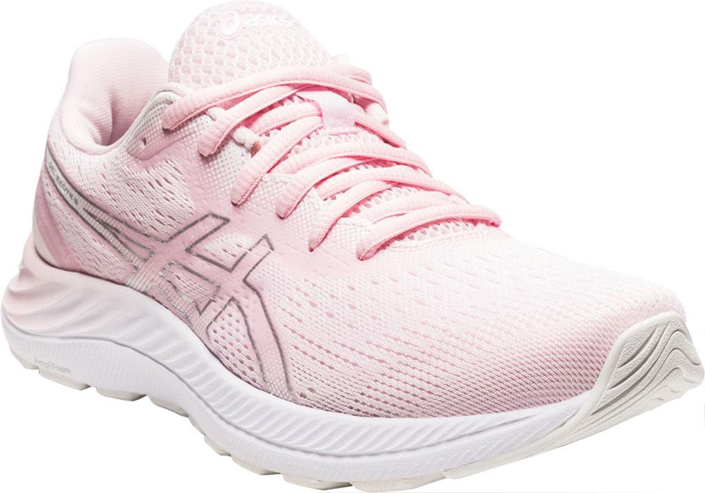 Women's ASICS GEL-Excite 8 Running Sneaker, Pink Salt/Pure Silver, large, image 1