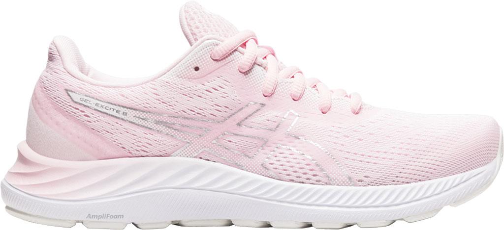 Women's ASICS GEL-Excite 8 Running Sneaker, Pink Salt/Pure Silver, large, image 2