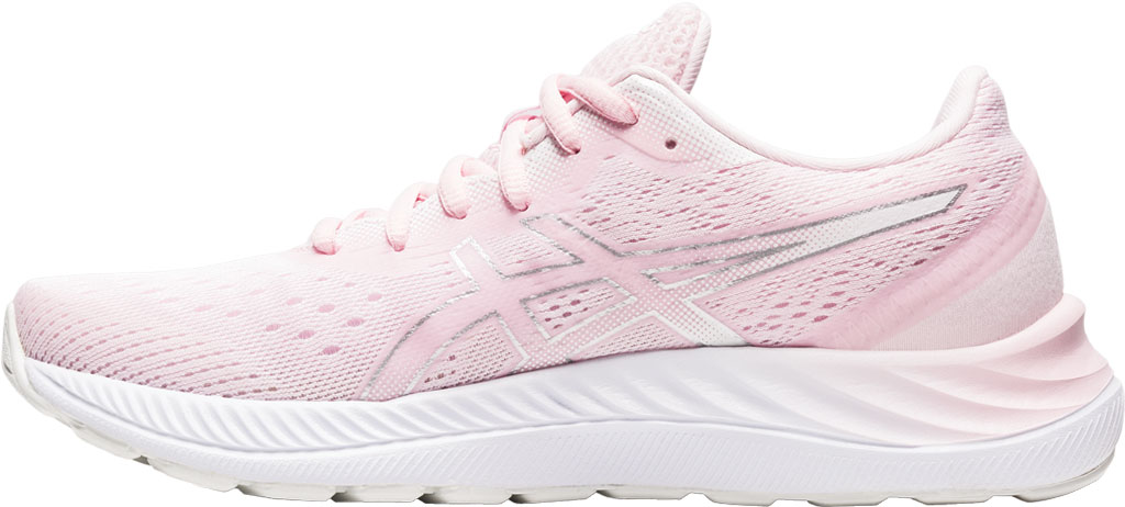 Women's ASICS GEL-Excite 8 Running Sneaker, Pink Salt/Pure Silver, large, image 3