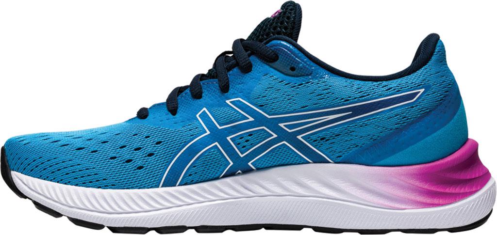 Women's ASICS GEL-Excite 8 Running Sneaker, Digital Aqua/White, large, image 3