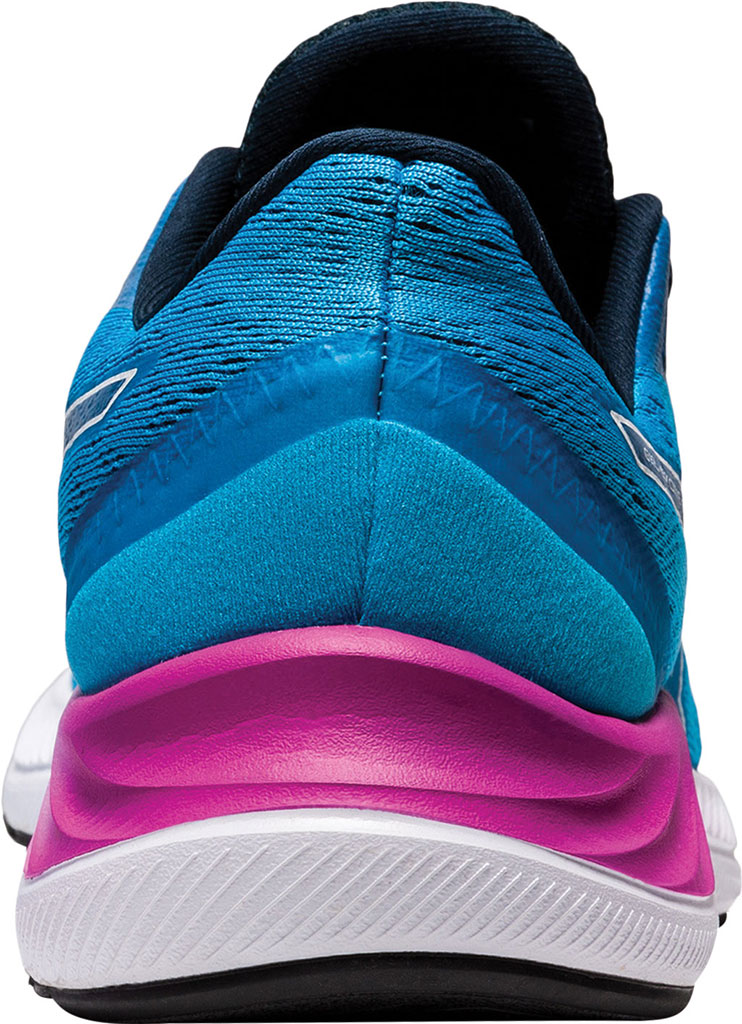 Women's ASICS GEL-Excite 8 Running Sneaker, Digital Aqua/White, large, image 4