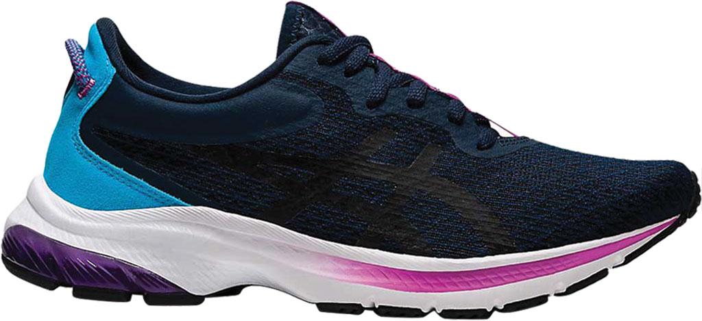 Women's ASICS GEL-Kumo Lyte 2 Running Sneaker, French Blue/Black, large, image 1
