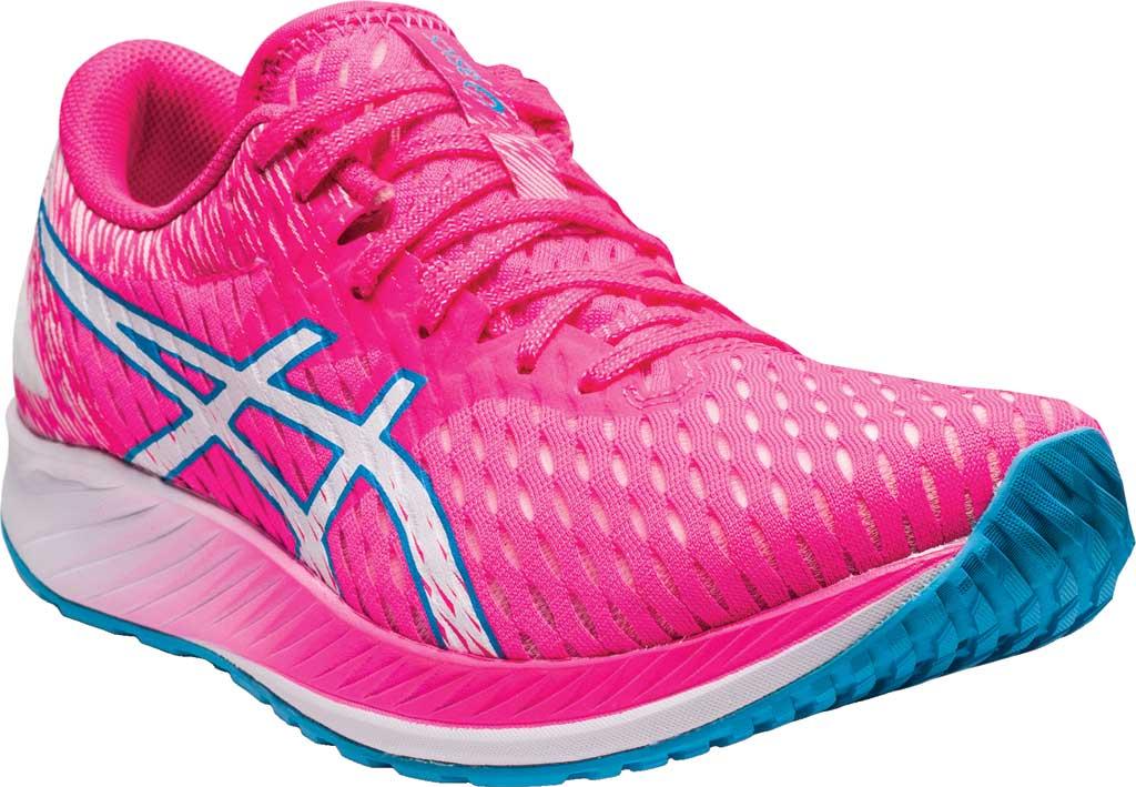 Women's ASICS Hyper Speed Running Sneaker, Hot Pink/White, large, image 1