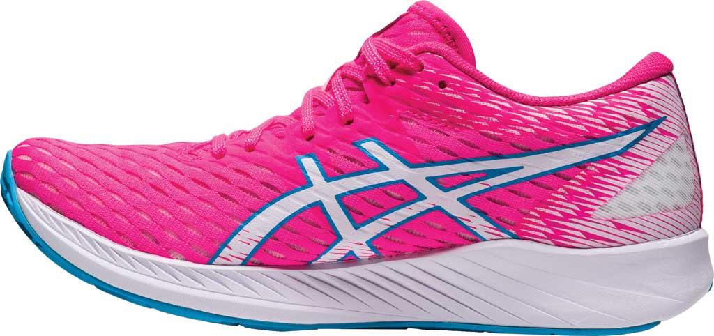 Women's ASICS Hyper Speed Running Sneaker, Hot Pink/White, large, image 3