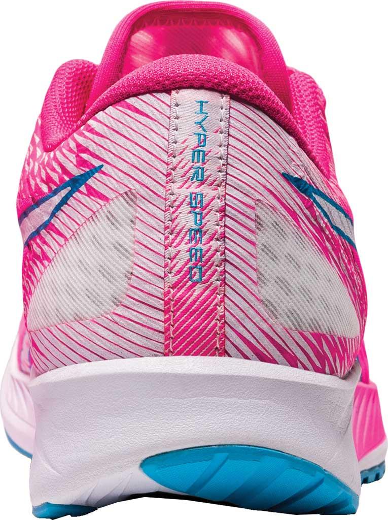 Women's ASICS Hyper Speed Running Sneaker, Hot Pink/White, large, image 4