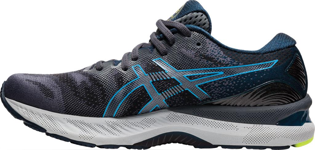 Men's ASICS GEL-Nimbus 23 Running Sneaker, Carrier Grey/Digital Aqua, large, image 3