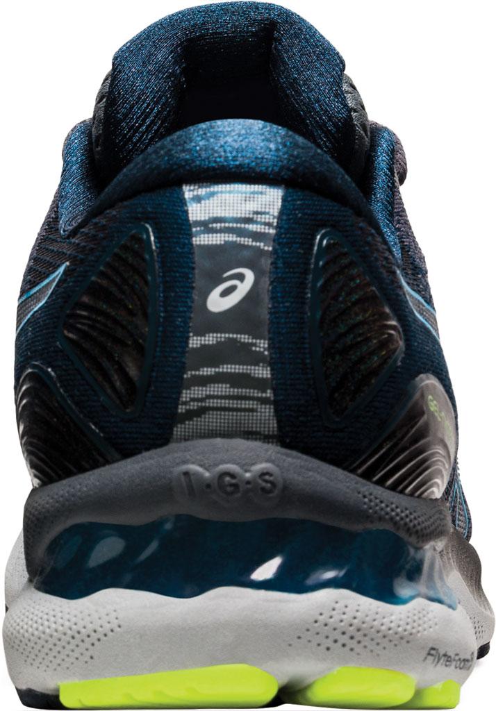 Men's ASICS GEL-Nimbus 23 Running Sneaker, Carrier Grey/Digital Aqua, large, image 4