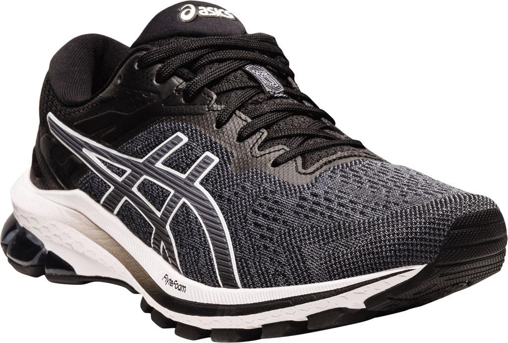 Women's ASICS GT-1000 10 Running Sneaker, Black/White, large, image 1