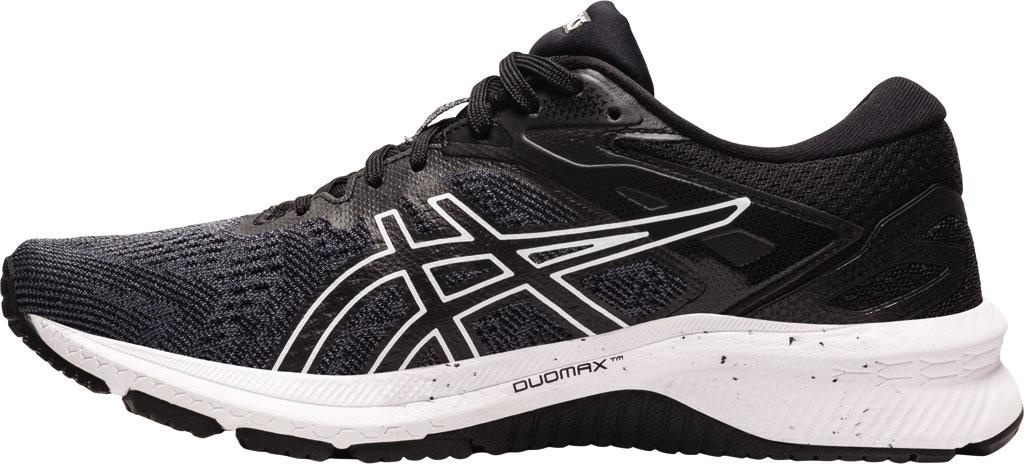 Women's ASICS GT-1000 10 Running Sneaker, Black/White, large, image 3