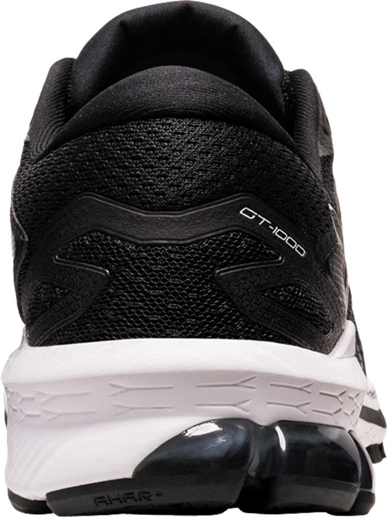 Women's ASICS GT-1000 10 Running Sneaker, Black/White, large, image 4