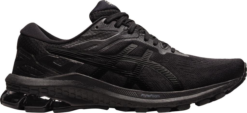 Women's ASICS GT-1000 10 Running Sneaker, Black/Black, large, image 1