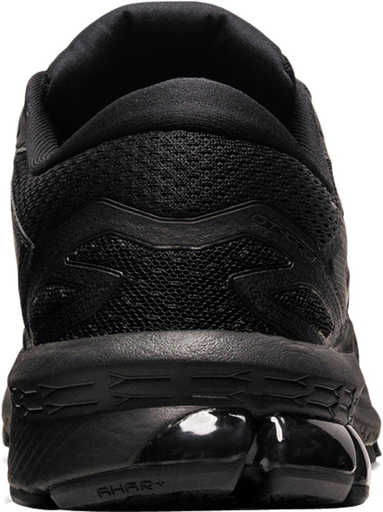 Women's ASICS GT-1000 10 Running Sneaker, Black/Black, large, image 3
