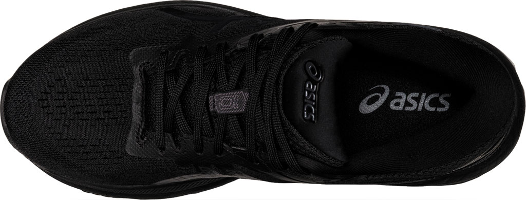 Women's ASICS GT-1000 10 Running Sneaker, Black/Black, large, image 4