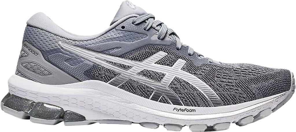 Women's ASICS GT-1000 10 Running Sneaker, Piedmont Grey/Pure Silver, large, image 1