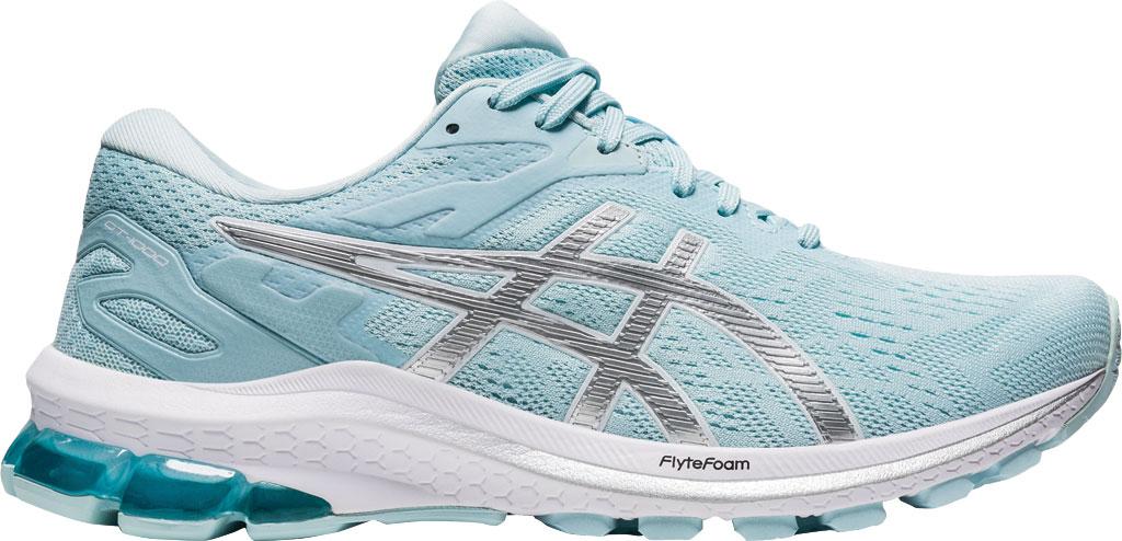 Women's ASICS GT-1000 10 Running Sneaker, Aqua Angel/Digital Aqua, large, image 2