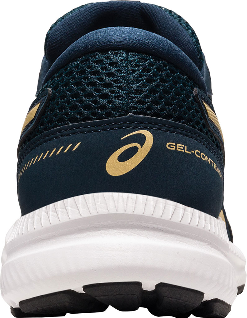 Women's ASICS GEL-Contend 7 Running Sneaker, French Blue/Champagne, large, image 4