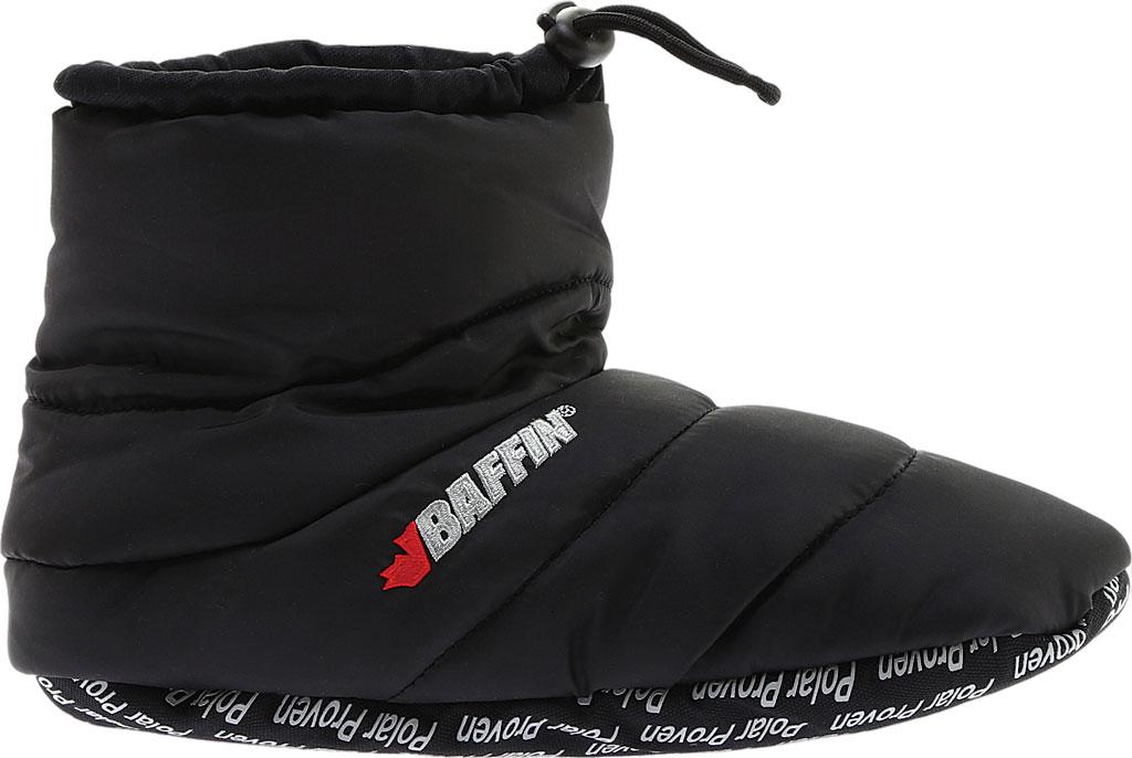 Baffin Cush Booty Slipper, Black, large, image 2