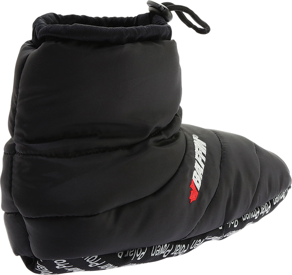 Baffin Cush Booty Slipper, Black, large, image 4