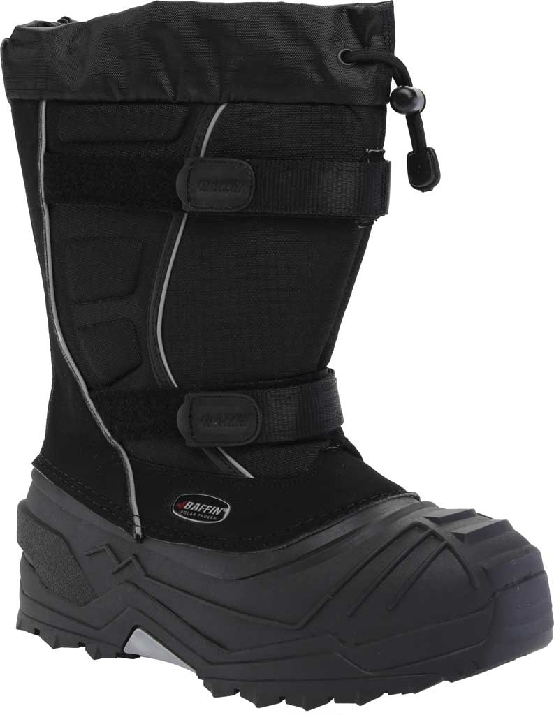 Children's Baffin Young Eiger Snow Boot, Black, large, image 1