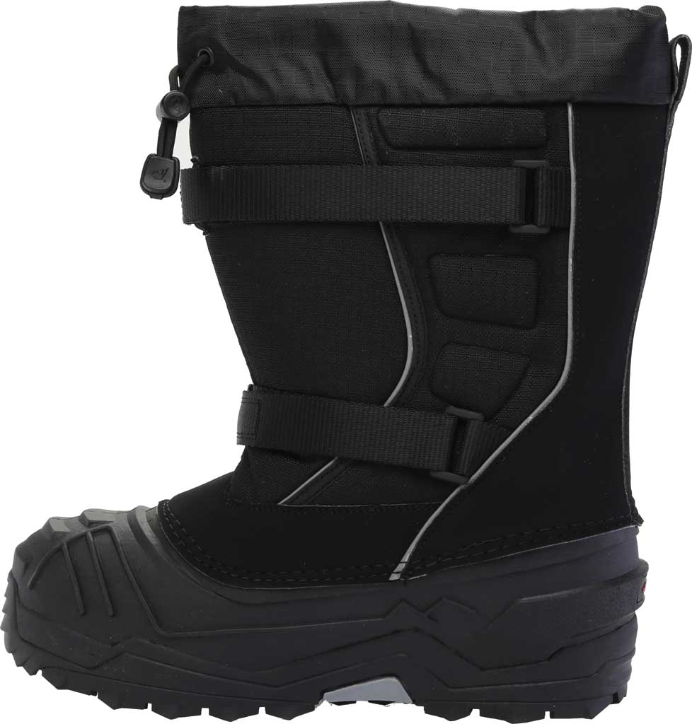 Children's Baffin Young Eiger Snow Boot, Black, large, image 3