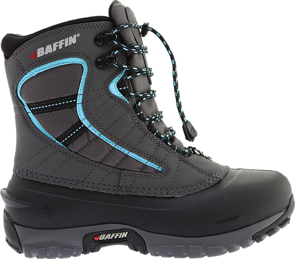 Women's Baffin Sage Snow Boot, Charcoal/Teal, large, image 2