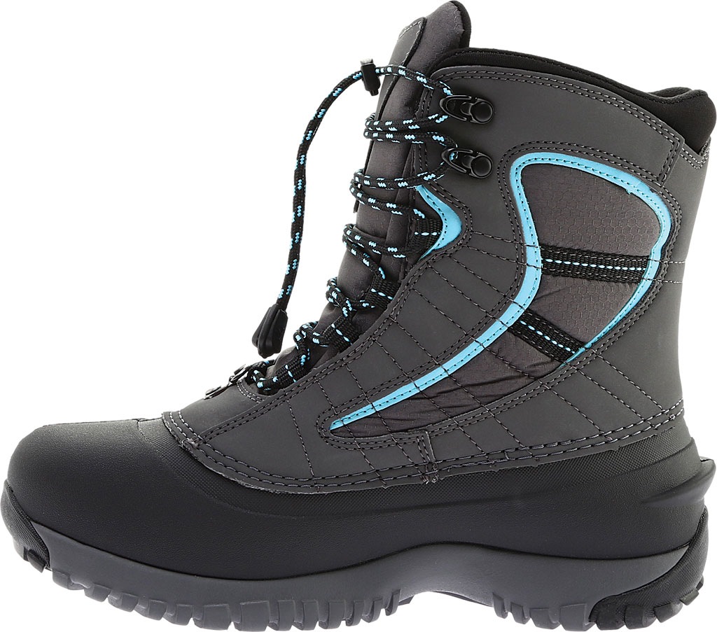 Women's Baffin Sage Snow Boot, Charcoal/Teal, large, image 3