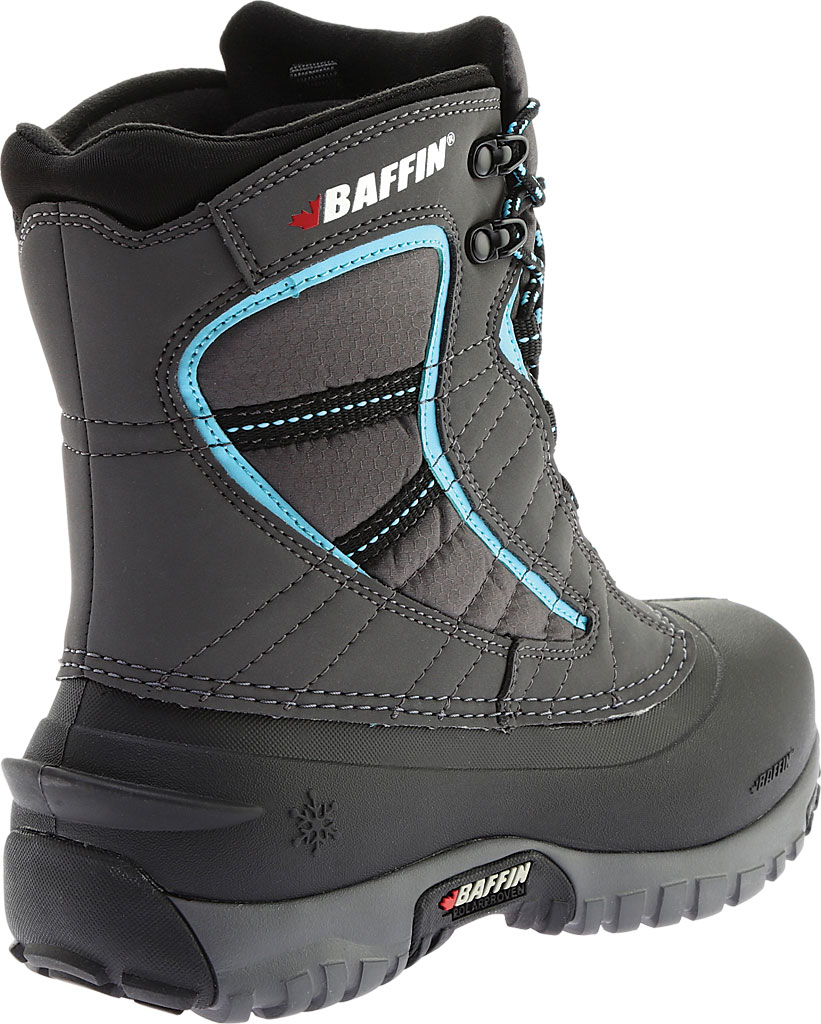 Women's Baffin Sage Snow Boot, Charcoal/Teal, large, image 4