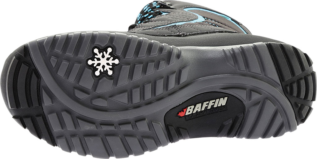 Women's Baffin Sage Snow Boot, Charcoal/Teal, large, image 6