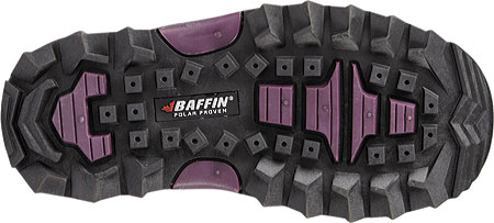 Children's Baffin Young Snogoose Snow Boot, Black/Plum, large, image 2