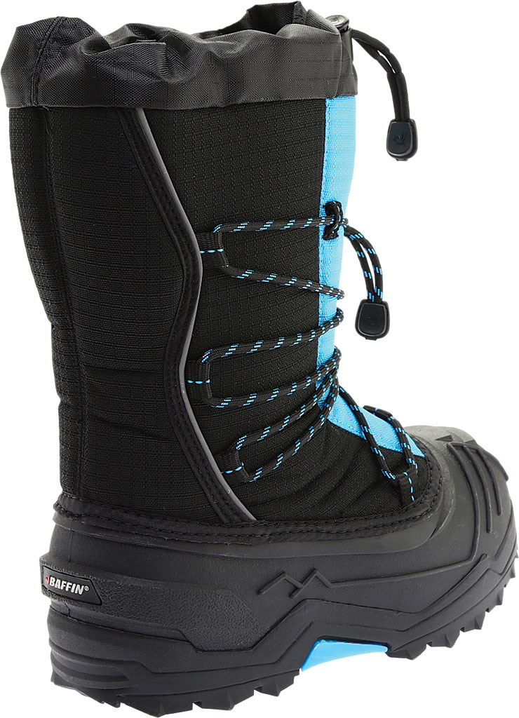 Children's Baffin Young Snogoose Snow Boot, Black/Plum, large, image 4
