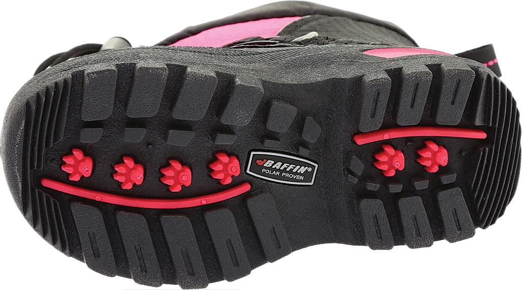 Infant Baffin Mustang Snow Boot, Black/Hyper Berry, large, image 6