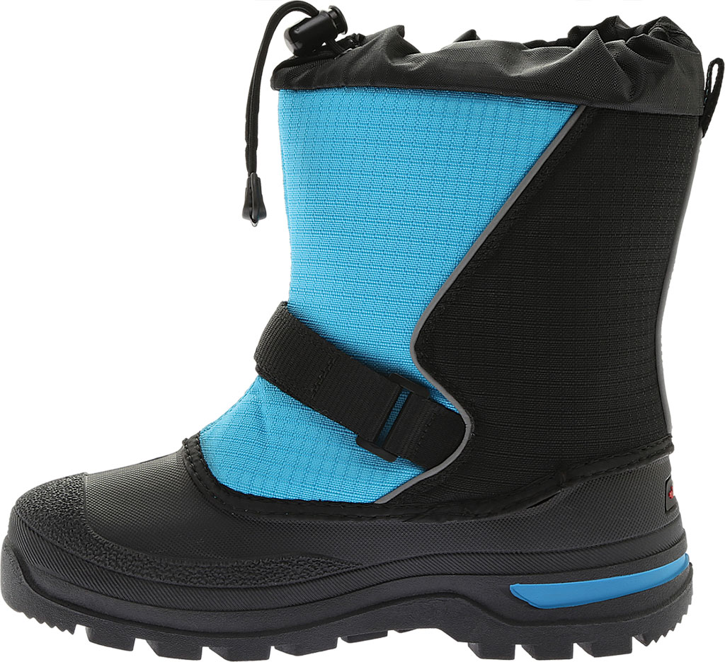 Infant Baffin Mustang Snow Boot, Black/Electric Blue, large, image 3