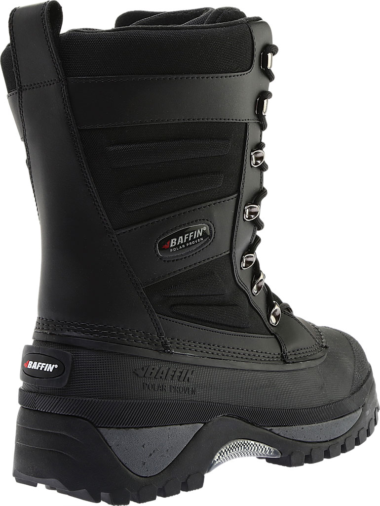 Men's Baffin Crossfire Snow Boot, Black, large, image 4