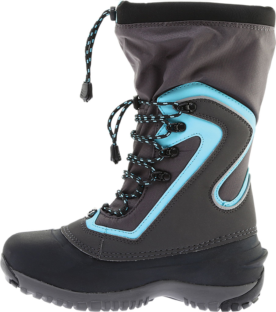 Women's Baffin Flare Snow Boot, Charcoal/Teal, large, image 3