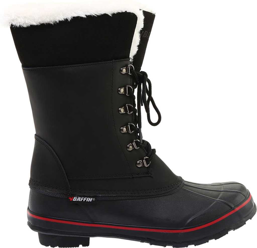 Women's Baffin Mink Waterproof Boot, Black, large, image 2