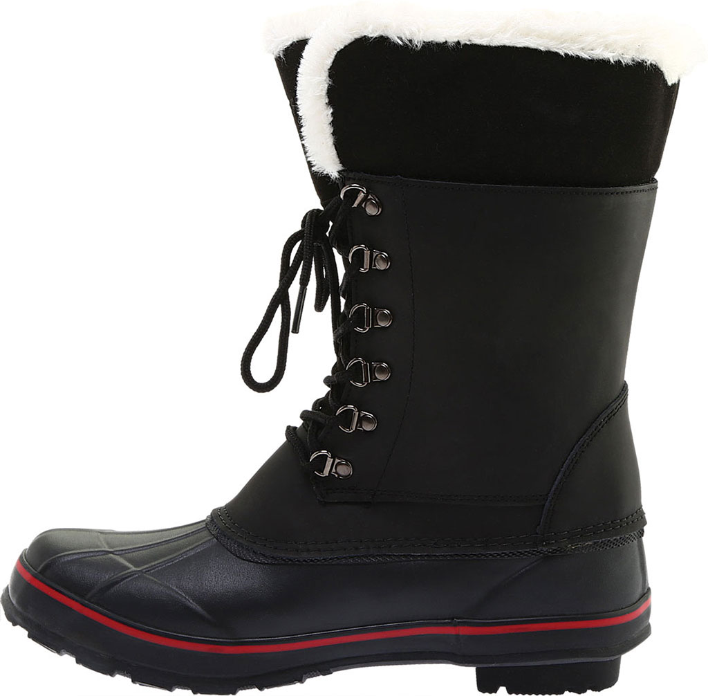 Women's Baffin Mink Waterproof Boot, Black, large, image 3