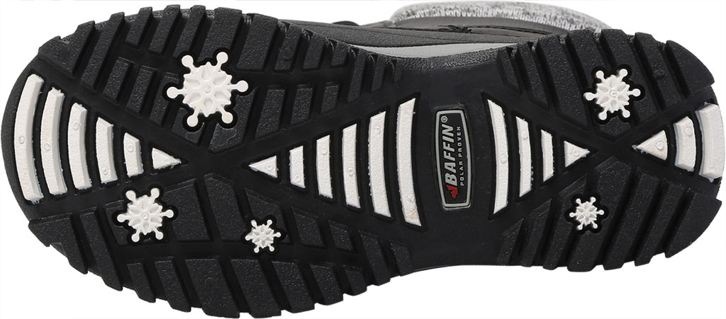 Girls' Baffin Avery Snow Boot Youth, Black, large, image 6