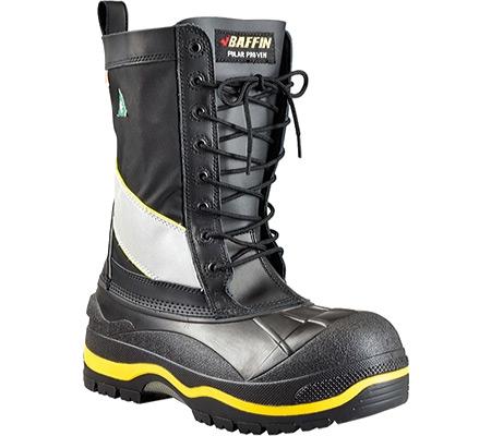 Men's Baffin Constructor Safety Toe and Plate Boot, Black/Hi-Viz, large, image 1